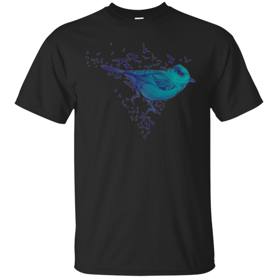 Bird t-shirt Fly to FLy