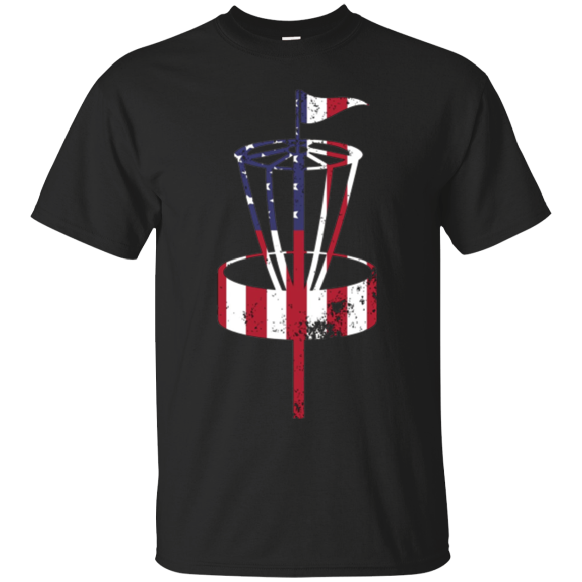 american flag disc golf shirt - usa flag disc golf shirt