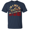 Image of I Am A Biker Dad T-Shirt -Motorcyle Riding Gift For Mens