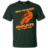 Image of Beware Biker In The Air Cycling Sport T-Shirt