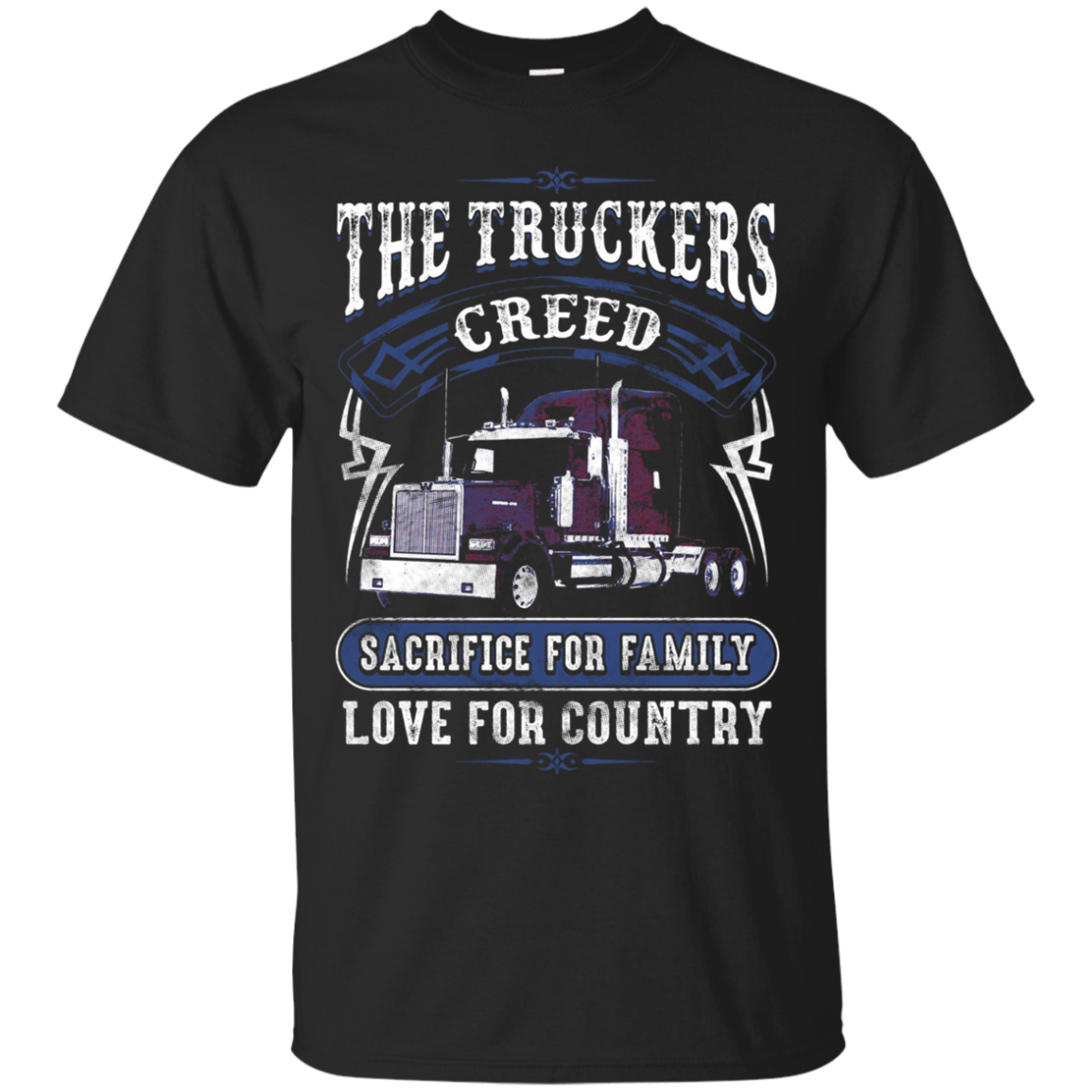 Truckers Creed Truck Drivers Shirt for Men and Women