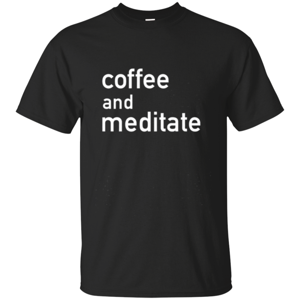 Coffee And Meditate T-shirt Meditation Long Sleeve