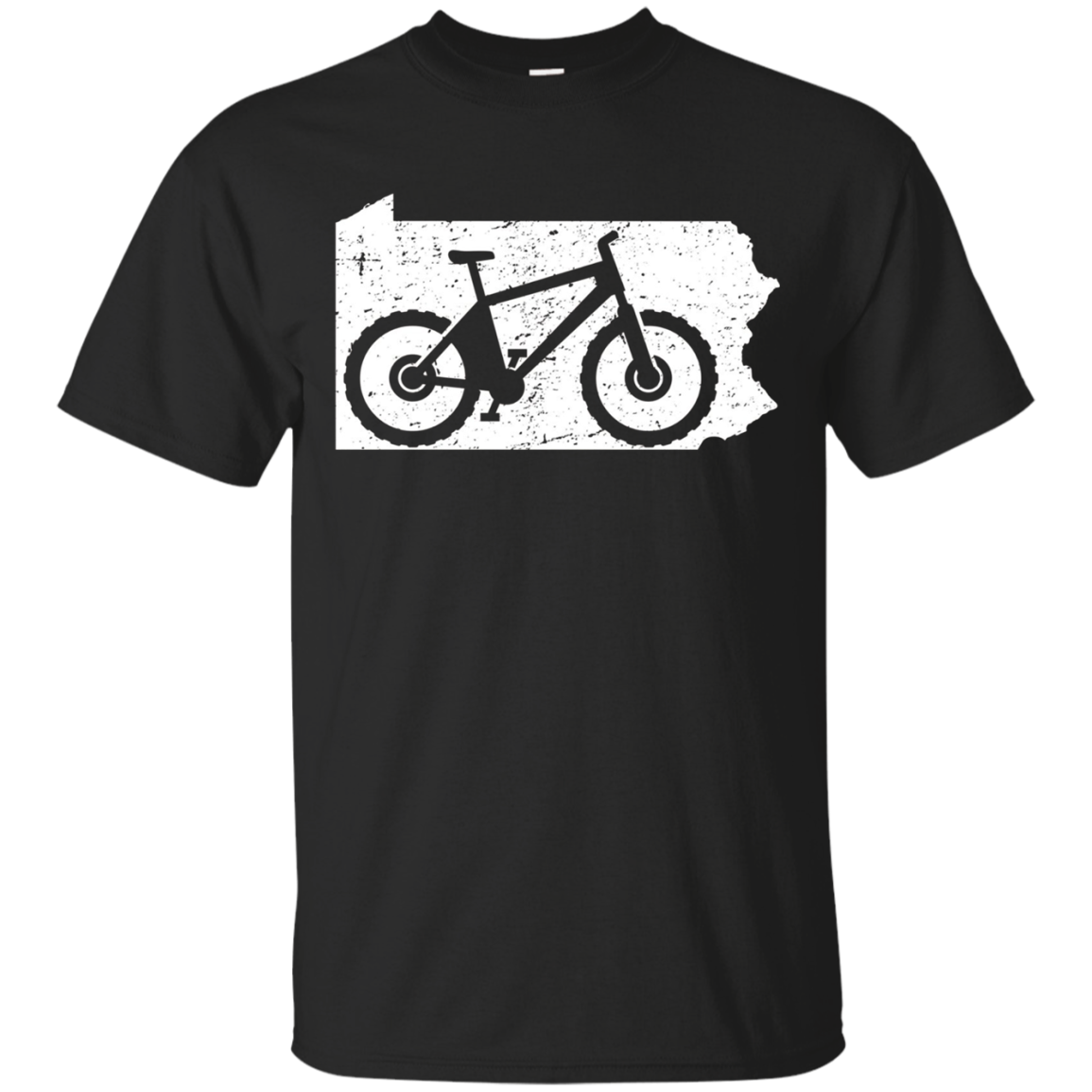 Pennsylvania Mountain Bike Shirt: Biking Cycling MTB Biker