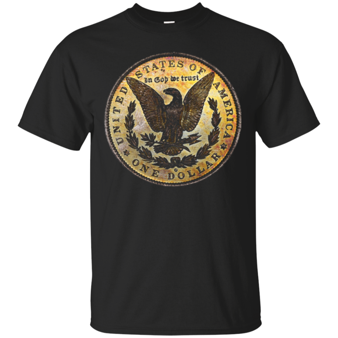 Toned Morgan Silver Dollar Coin Collecting T-Shirt