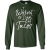Image of I Workout So I Can Eat Tacos Shirt Workout Fitness Food Tee