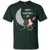Image of Happy Valentine's Day Long Sleeve Shirt with Cats