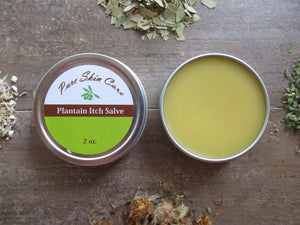 Plantain Itch Salve
