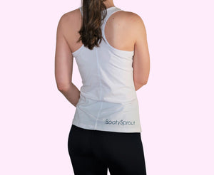BootySprout racerback tank top