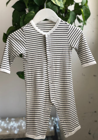 STRIPED BABY ONESIE