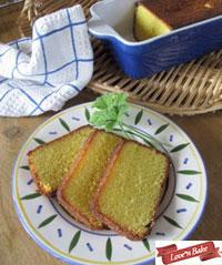 Almond Lemon Polenta Cake