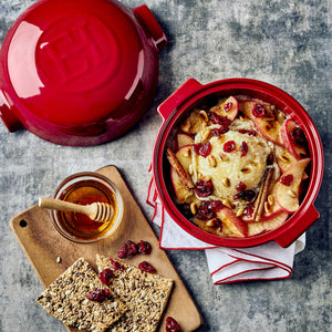APPLE  & CRANBERRY BAKED CHEESE