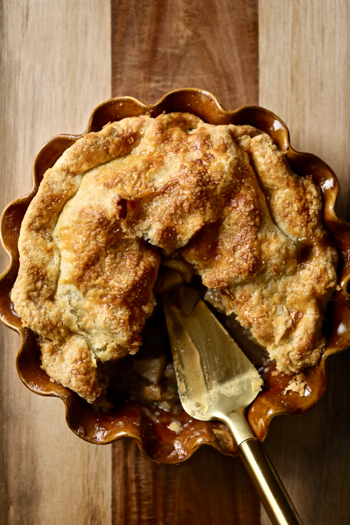 Brown Butter Apple Pie by MamaMiaMangia