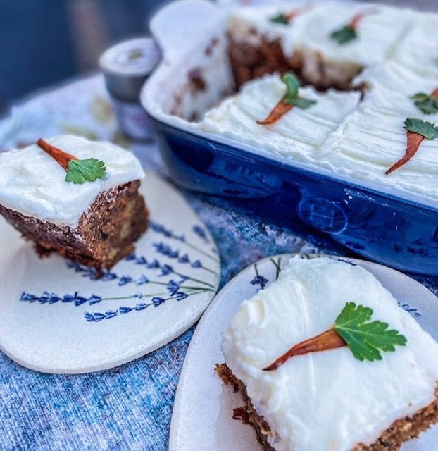 Ultimate Carrot Cake by Gustus Vitae