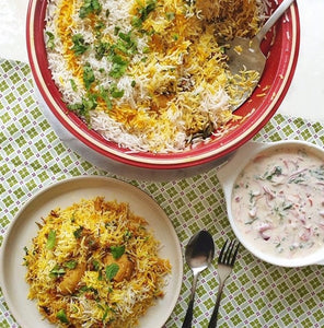 Chicken Biryani by azeesculinarycravings