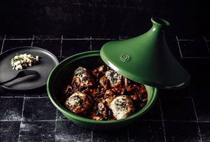 Chicken Tagine with Black Garlic & Preserved Limes by Fashion Tales