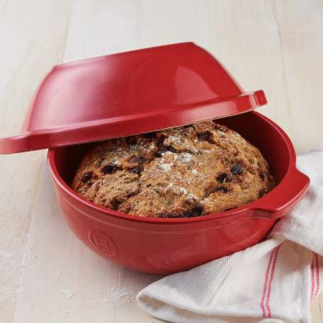 No-Knead Chocolate-Cherry Pecan Bread by King Arthur Baking