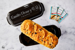 Artisan Cranberry Pistachio Chocolate Chip Bread by The Kitchen Whisperer