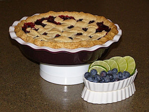 Key Lime Blueberry Pie