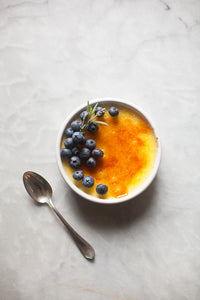 Lavender Crème Brulee by Zoe Bakes
