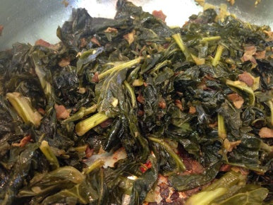 Collard Greens With Pancetta