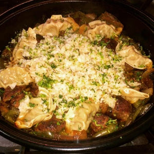 Asian-Style Beef Tip Tagine