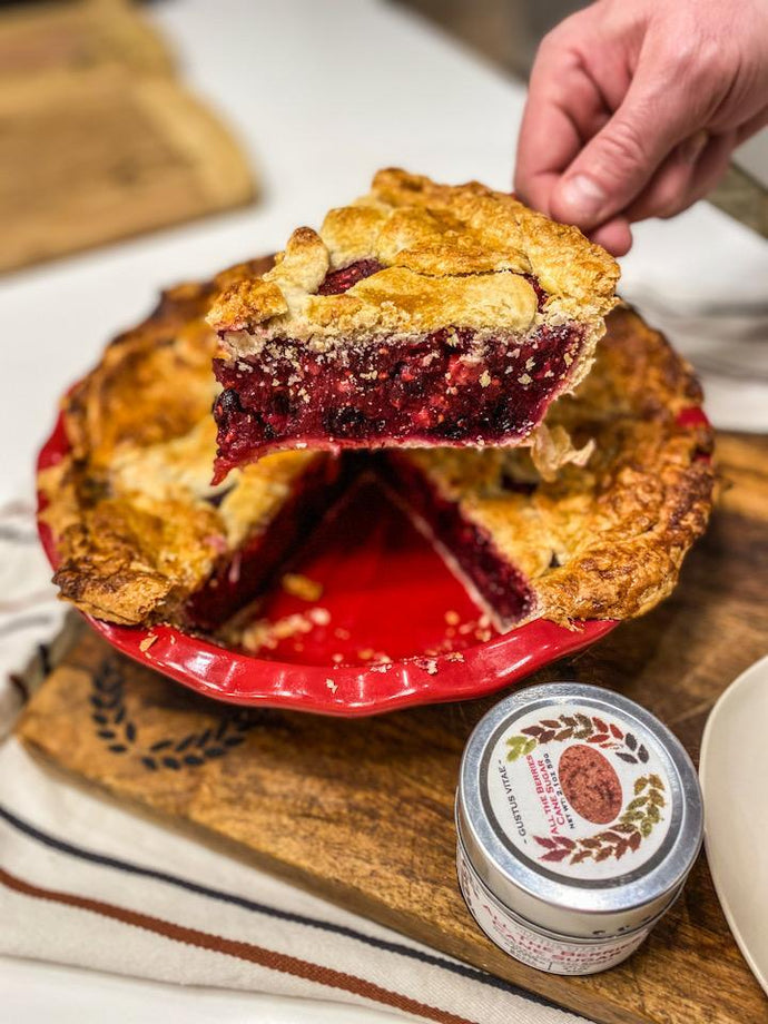 Year Round All The Berries Diner Pie by Gustus Vitae