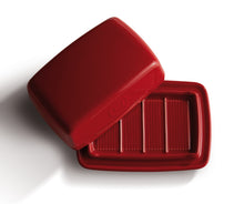 Emile Henry Butter Dish Color: Burgundy