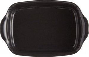 Emile Henry Ultime Rectangular Baking Dish Color: Charcoal; Size: Individual