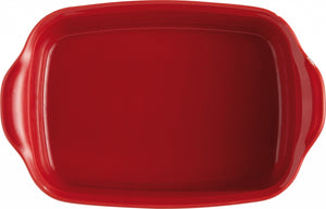 Emile Henry Ultime Rectangular Baking Dish Color: Burgundy; Size: Individual