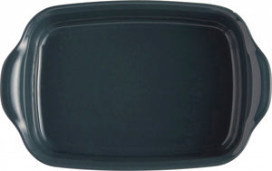 Emile Henry Ultime Rectangular Baking Dish Color: Blue Flame; Size: Individual