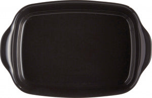 Emile Henry Ultime Rectangular Baking Dish Color: Charcoal; Size: Small Rectangle