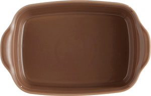 Emile Henry Ultime Rectangular Baking Dish Color: Oak; Size: Small Rectangle