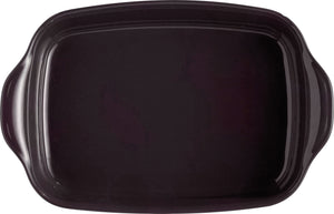 Emile Henry Ultime Rectangular Baking Dish Color: Charcoal; Size: Medium Rectangle