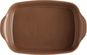 Emile Henry Ultime Rectangular Baking Dish Color: Oak; Size: Medium Rectangle