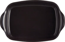 Emile Henry Ultime Rectangular Baking Dish Color: Charcoal; Size: Large Rectangle