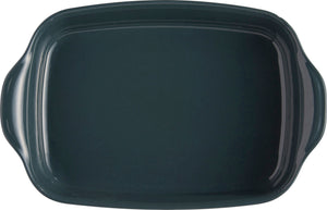 Emile Henry Ultime Rectangular Baking Dish Color: Blue Flame; Size: Large Rectangle