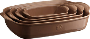 Emile Henry Ultime Rectangular Baking Dish Color: Oak