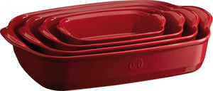 Emile Henry Ultime Rectangular Baking Dish Color: Burgundy