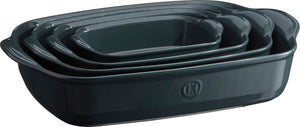 Emile Henry Ultime Rectangular Baking Dish Color: Blue Flame