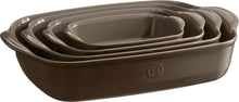 Emile Henry Ultime Rectangular Baking Dish Color: Flint