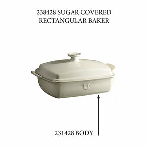 Emile Henry Covered Rectangular Baker - Replacement Body Covered Rectangular Baker - Replacement Body