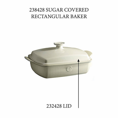 Covered Rectangular Baker - Replacement Lid