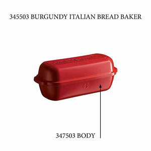 Italian Bread Loaf Baker - Replacement Body