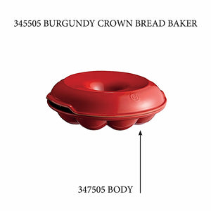 Emile Henry Crown Bread Baker - Replacement Body Crown Bread Baker - Replacement Body