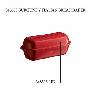 Emile Henry Italian Bread Loaf Baker - Replacement Lid Italian Bread Loaf Baker - Replacement Lid