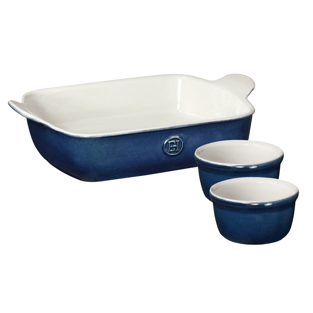 Rectangular Baker and Ramekin Set