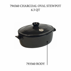 Emile Henry Oval Stewpot - Replacement Body Oval Stewpot - Replacement Body