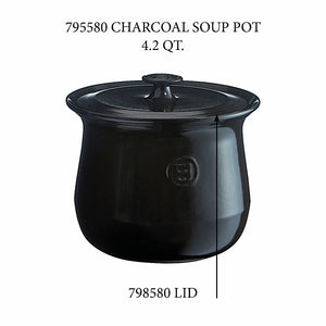 Emile Henry Soup Pot - Replacement Lid Soup Pot - Replacement Lid