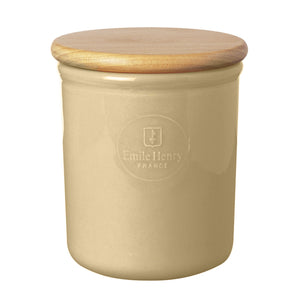 Emile Henry Canister with Lid (Discontinued) Canister with Lid (Discontinued)
