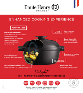 Emile Henry USA Delight Round Dutch Oven Delight Round Dutch Oven
